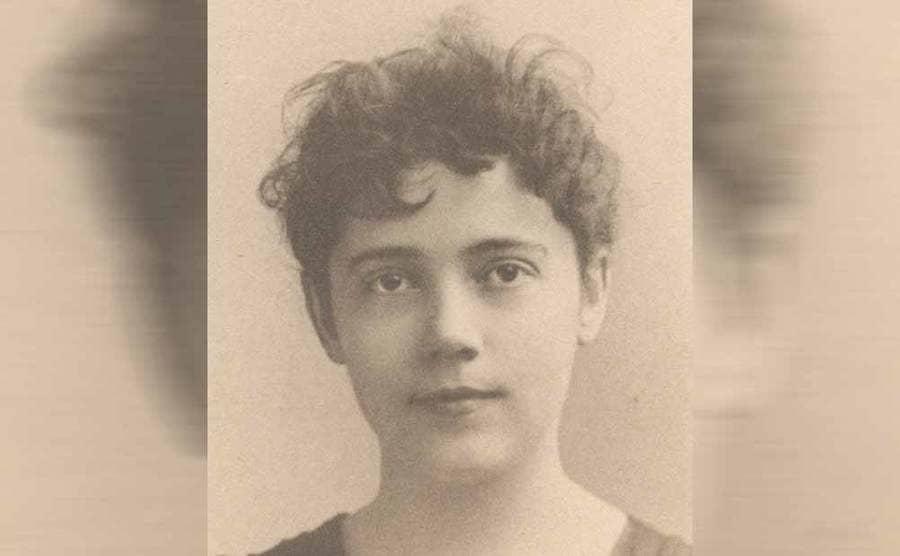 A portrait of Elizabeth Bisland