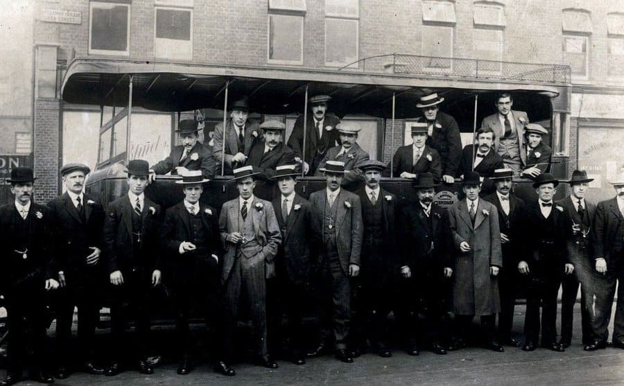 A gang of men in charge of wreaking havoc in the streets of Birmingham.
