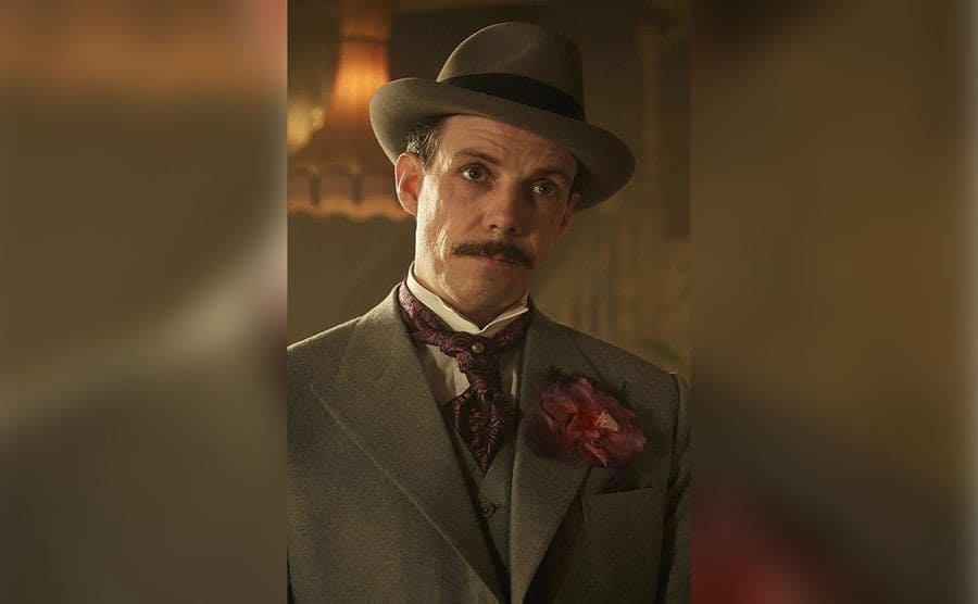 Darby Sabini from the TV show 'Peaky Blinders'