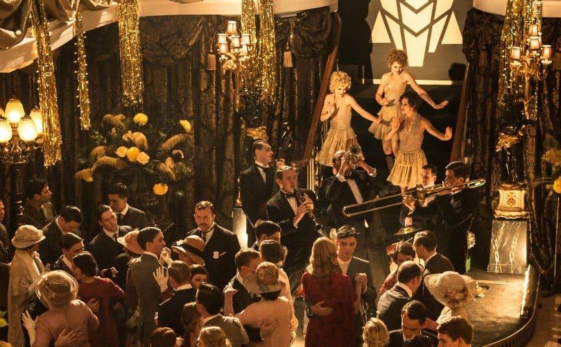 A nightclub scene in 'Peaky Blinders'.