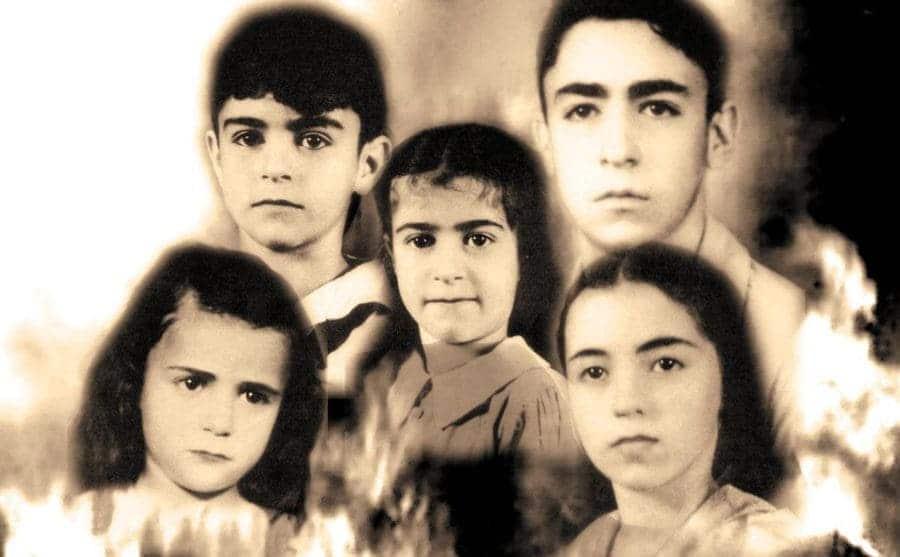 The missing Sodder children photographed together