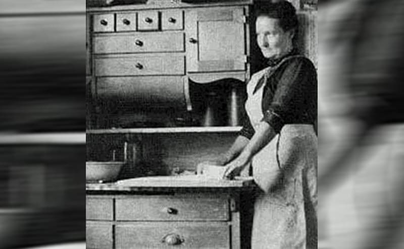 Mary in the kitchen