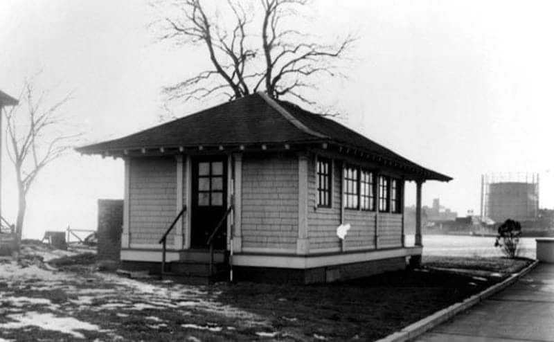 The cabin where Mary Mallon was quarantined