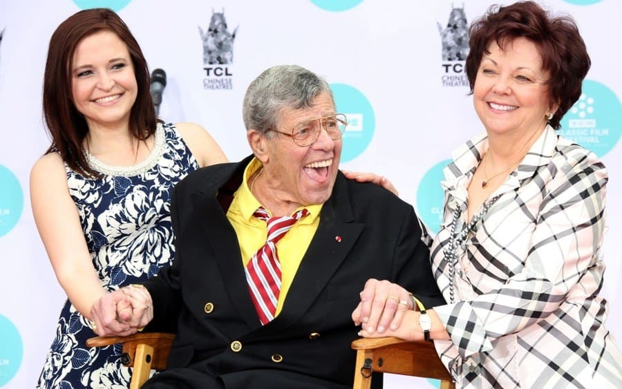 Danielle Sarah Lewis, Jerry Lewis, and SanDee Pitnick