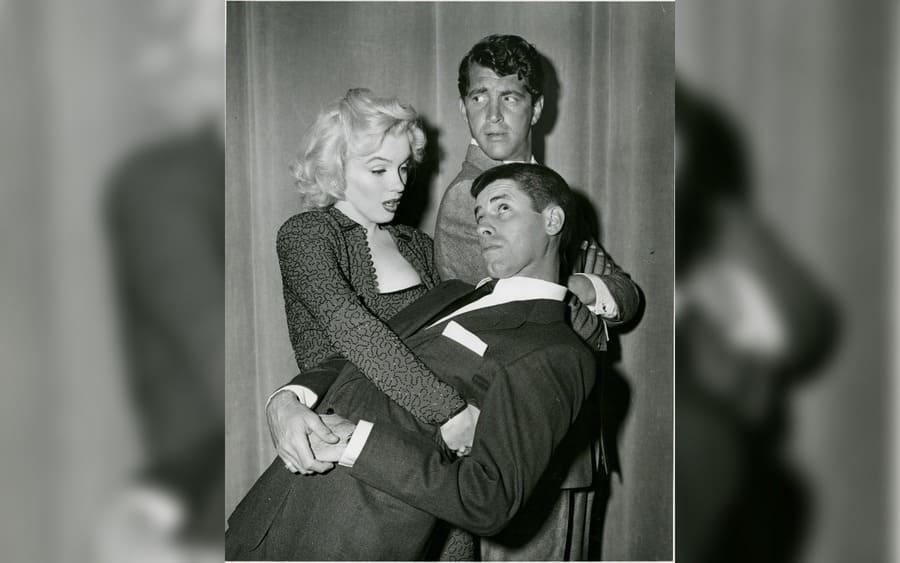Marilyn Monroe, Dean Martin, Jerry Lewis