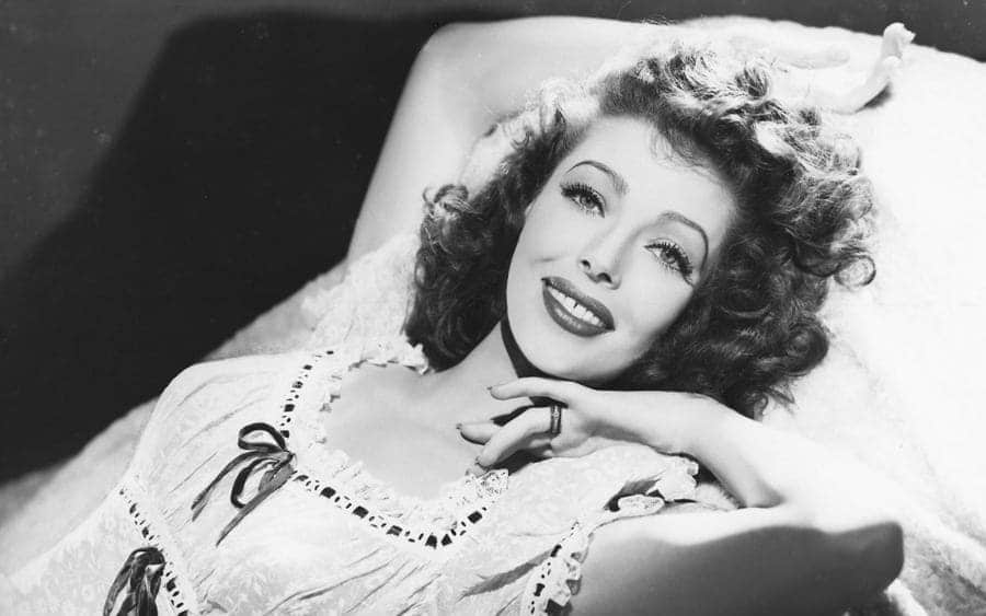American actress Loretta Young