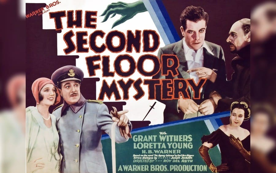 The Second Floor Mystery movie poster