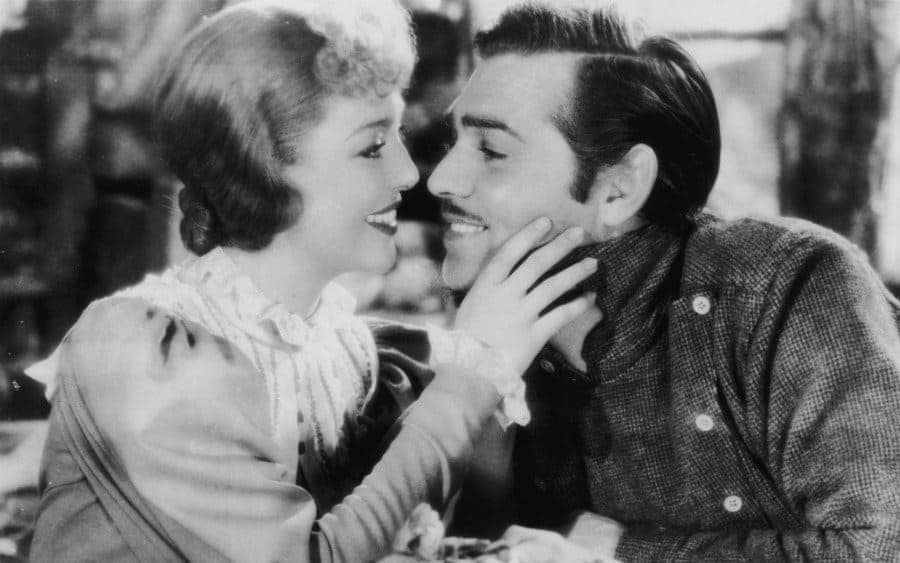 Loretta Young and American actor Clark Gable