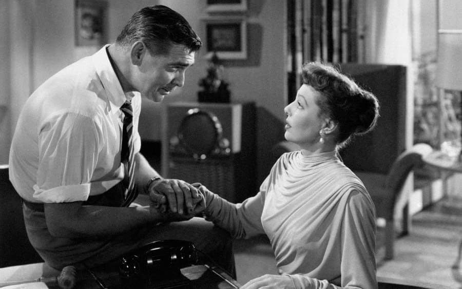 Loretta Young and Clark Gable in Key to the City