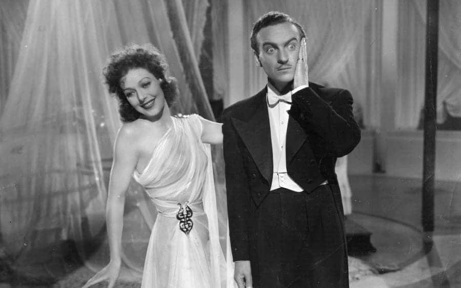 Loretta Young and David Niven star in 'Eternally Yours'