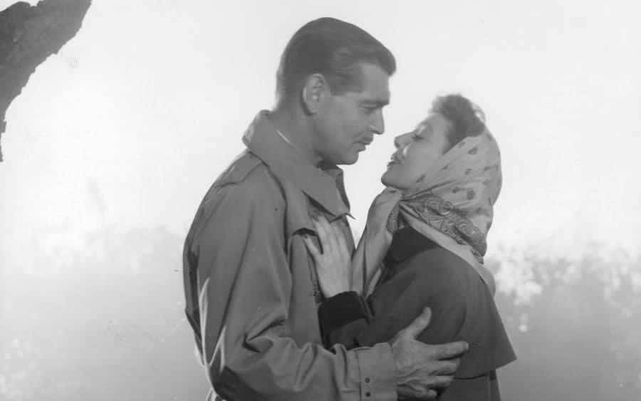 Clark Gable And Loretta Young In 'Key To The City'