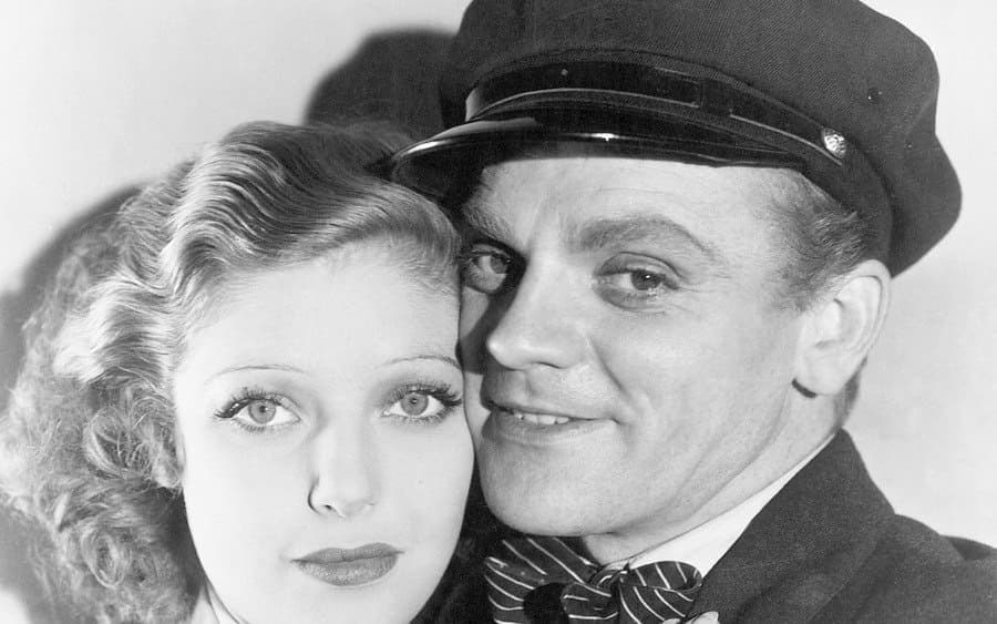 James Cagney and Loretta Young