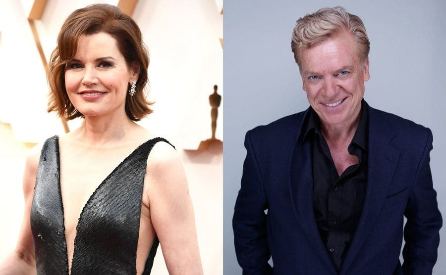 Geena Davis on the red carpet / Christopher McDonald on the red carpet