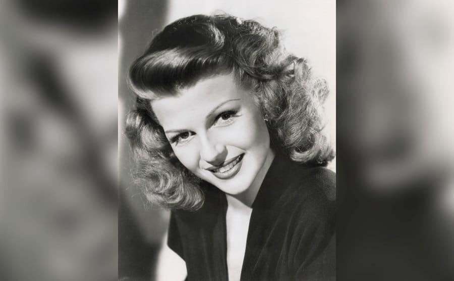 A photo of Rita Hayworth.