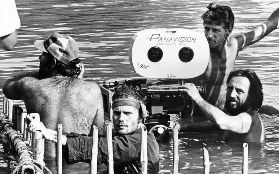 The Deer Hunter behind the scenes photo