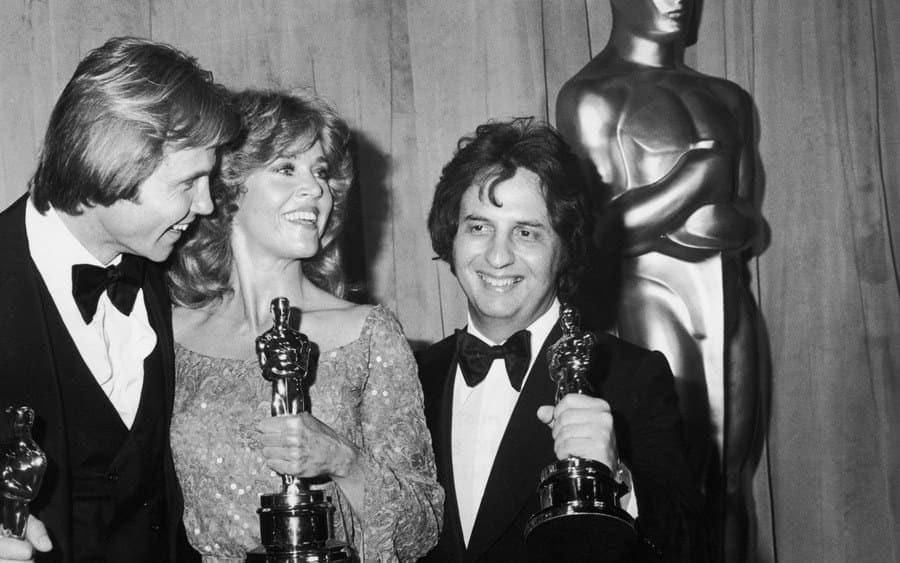 Voight, Fonda And Cimino Hold Oscars At Academy Awards, CA, 1979.