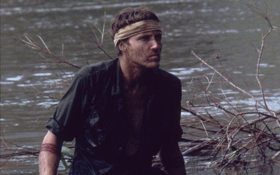 Christopher Walken stars in the Vietnam War film 'The Deer Hunter',