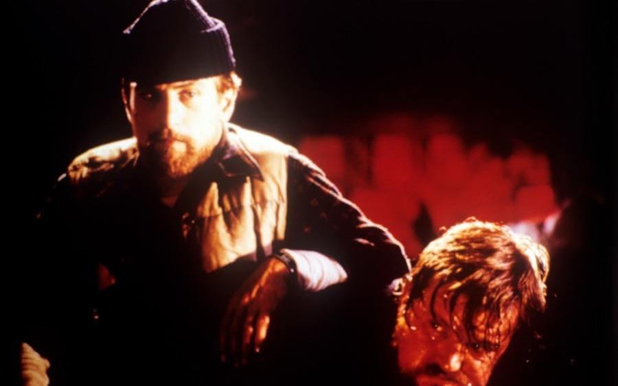 Robert De Niro and Chuck Aspegren in a scene from the movie