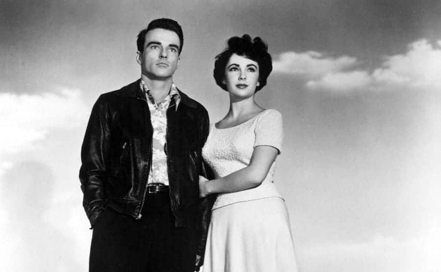 Montgomery Clift and Elizabeth Taylor in 1951
