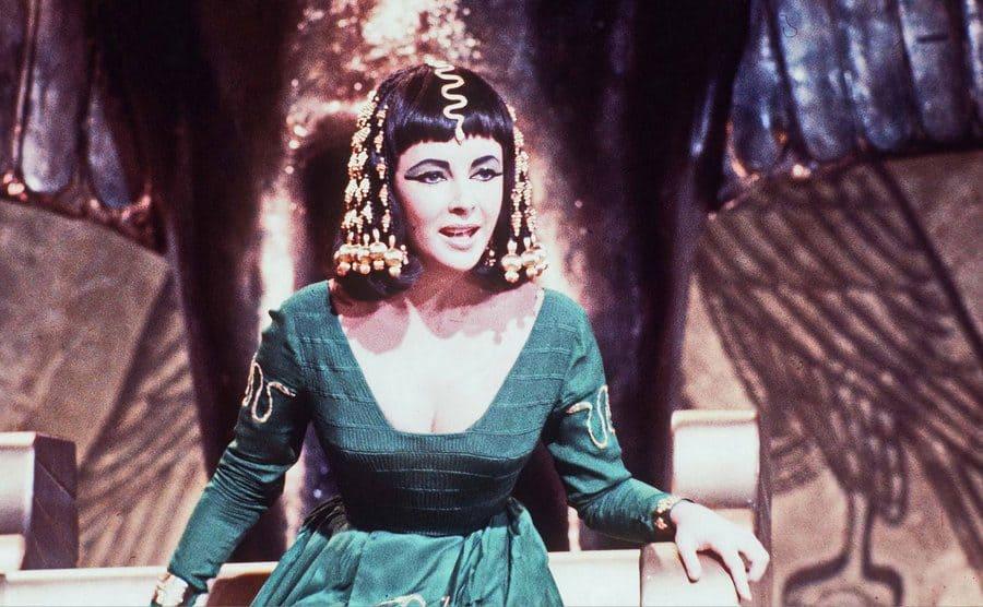 Elizabeth Taylor in 'Cleopatra,' 1963