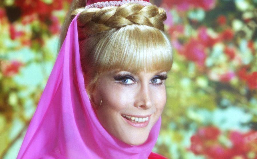 Barbara Eden's promo portrait as Jeannie.