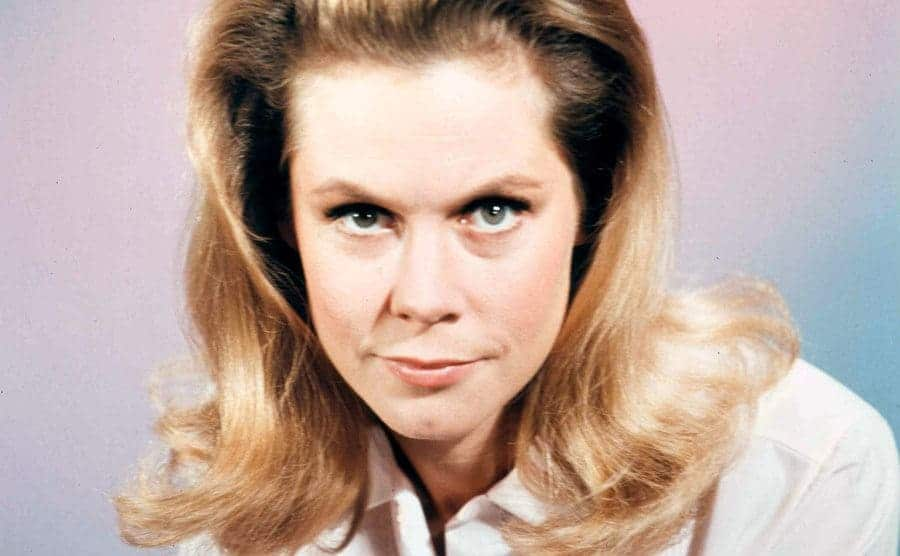 Elizabeth Montgomery as the witch from Bewitched.