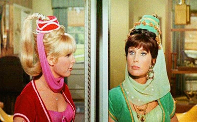 Jeannie and her Evil Sister.