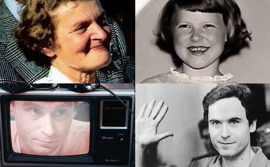Beverly Burr / Ann Marie Burr / Ted Bundy / Ted Bundy.