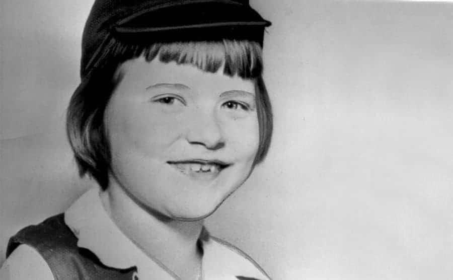 A portrait of Ann Marie Burr.