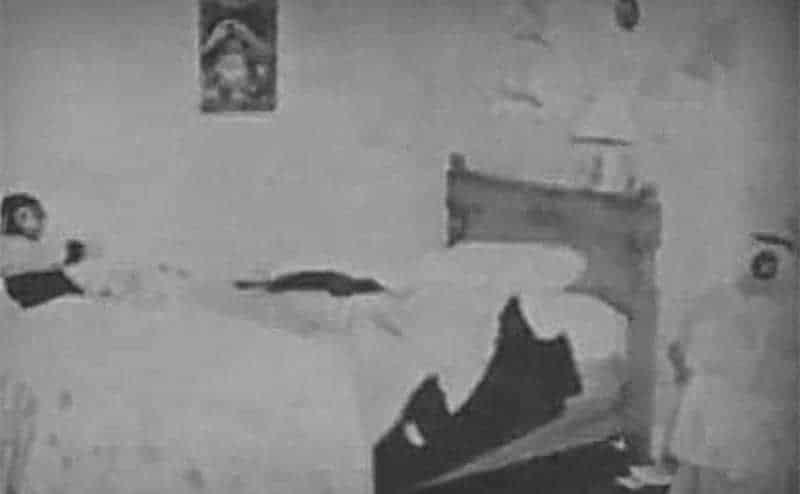 Ann Marie's bedroom.