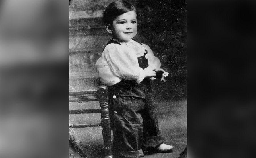 Humphrey Bogart as a toddler.