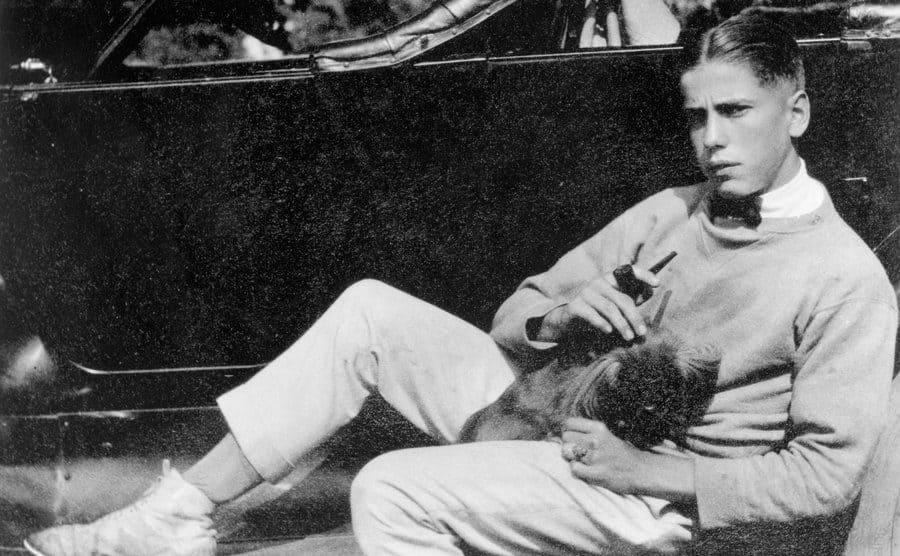 Humphrey Bogart at the age of nineteen.