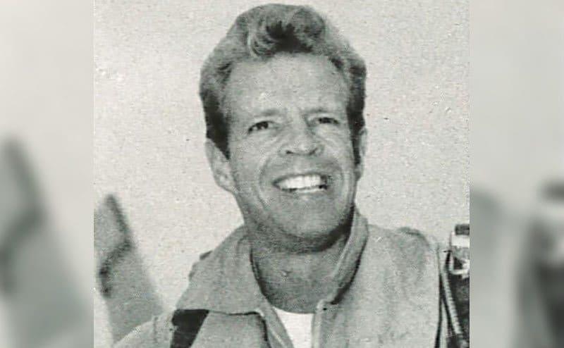 A portrait of Harvey.