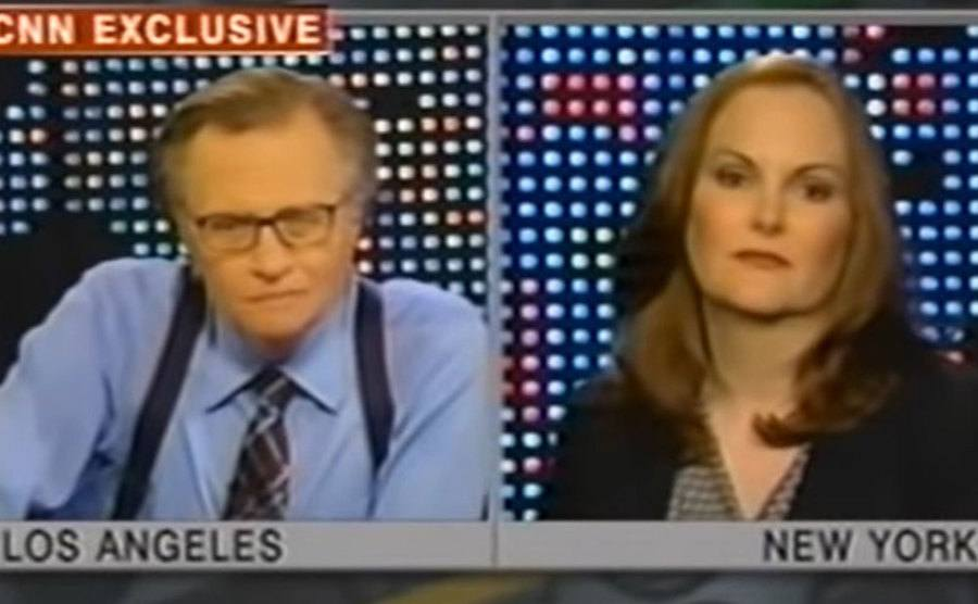 Patty Hearst's interview with Larry King.