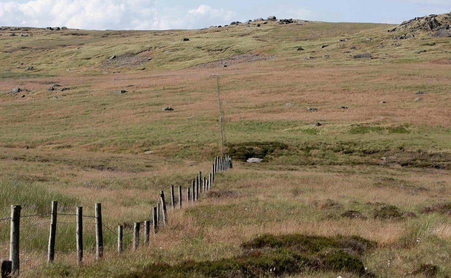 A general view of Saddleworth Moor.