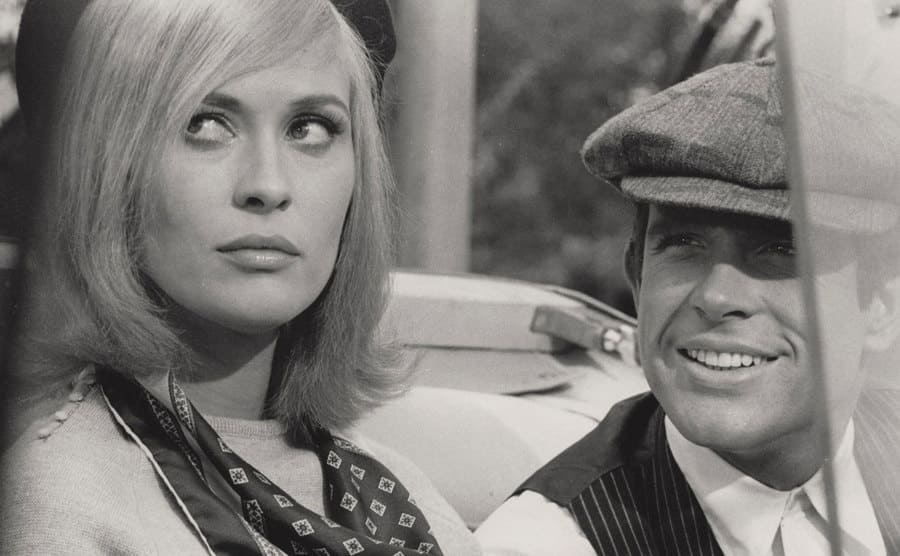 Bonnie and Clyde movie still.