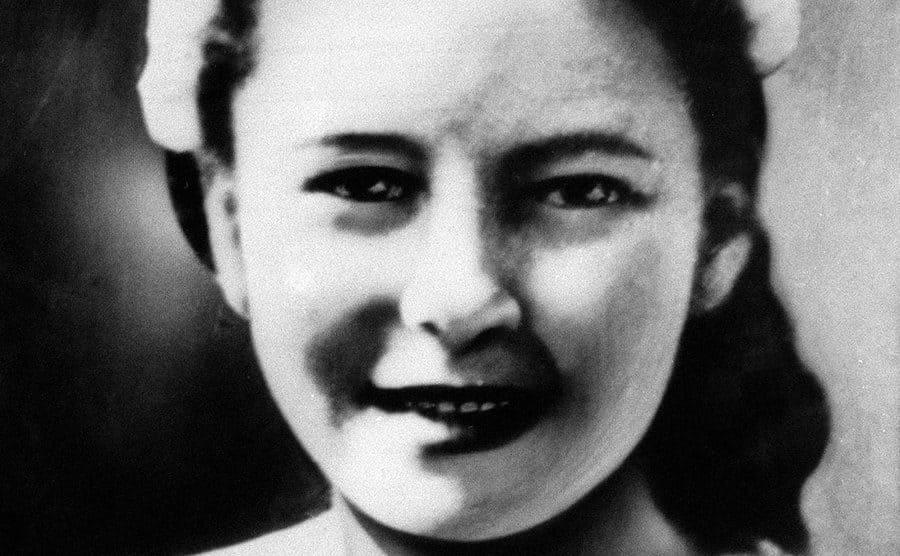 A portrait of Pauline Reade.