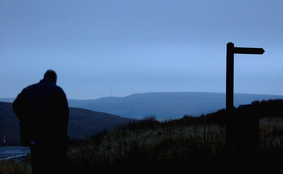 View of Saddleworth Moor.