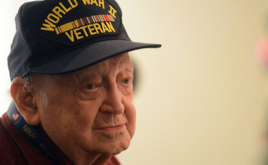 A portrait from a Battle of the Bulge veteran.