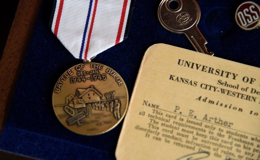The medals of a former Army S/Sgt.