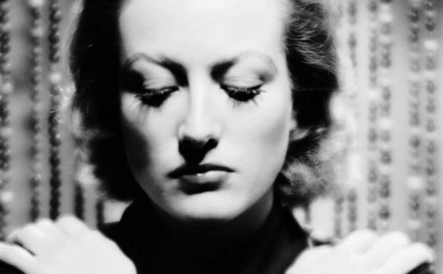 A picture of Joan Crawford.