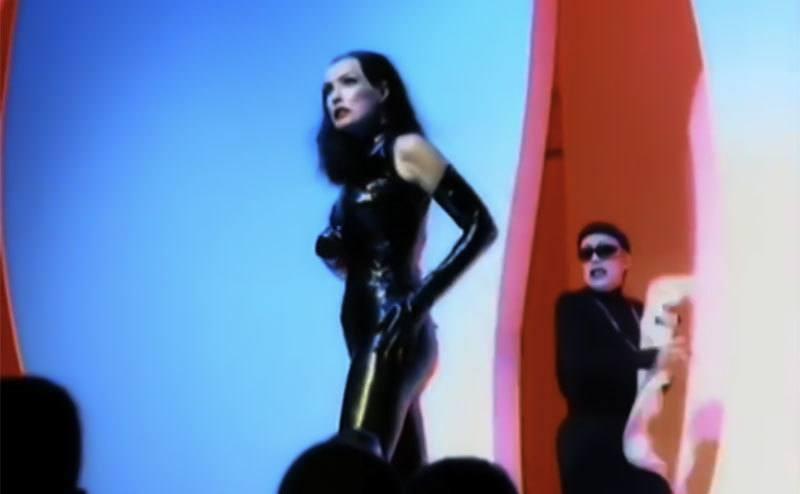 Julie Newmar stars in George Michael's music video.