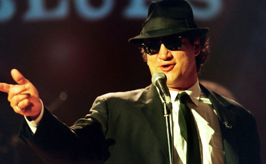 John Belushi is performing in House of Blues Chicago.