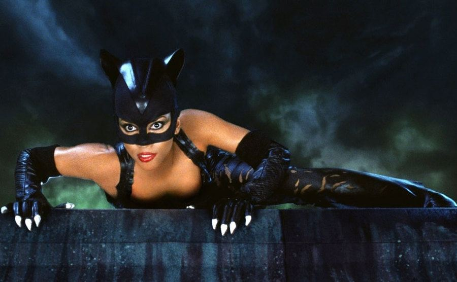 Halle Berry as cat woman.