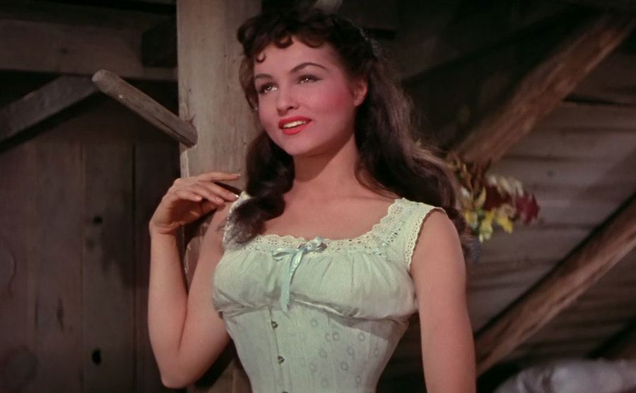 Julie Newmar in Seven Brides for Seven Brothers.