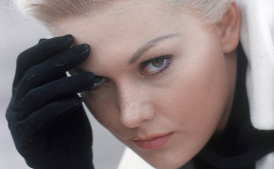Kim Novak in Vertigo.