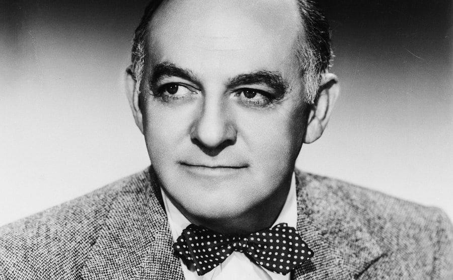 A portrait of Harry Cohn.