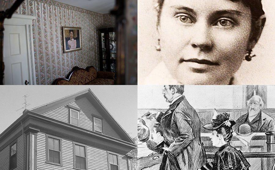 The Borden's House / Lizzie Borden / The Borden's house / Lizzie Borden.