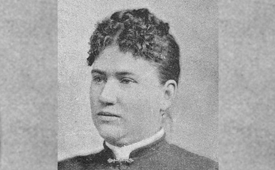 A portrait of Abby Borden.
