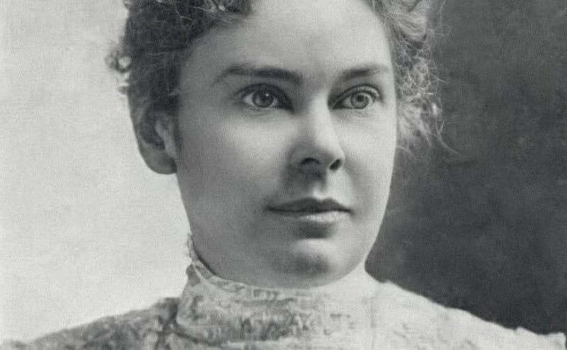 A picture of Lizzie Borden.